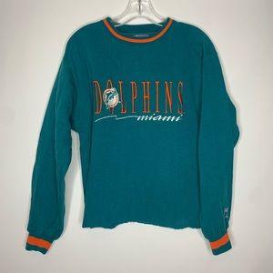 Vintage Miami Dolphins Medium Sweatshirt NFL
